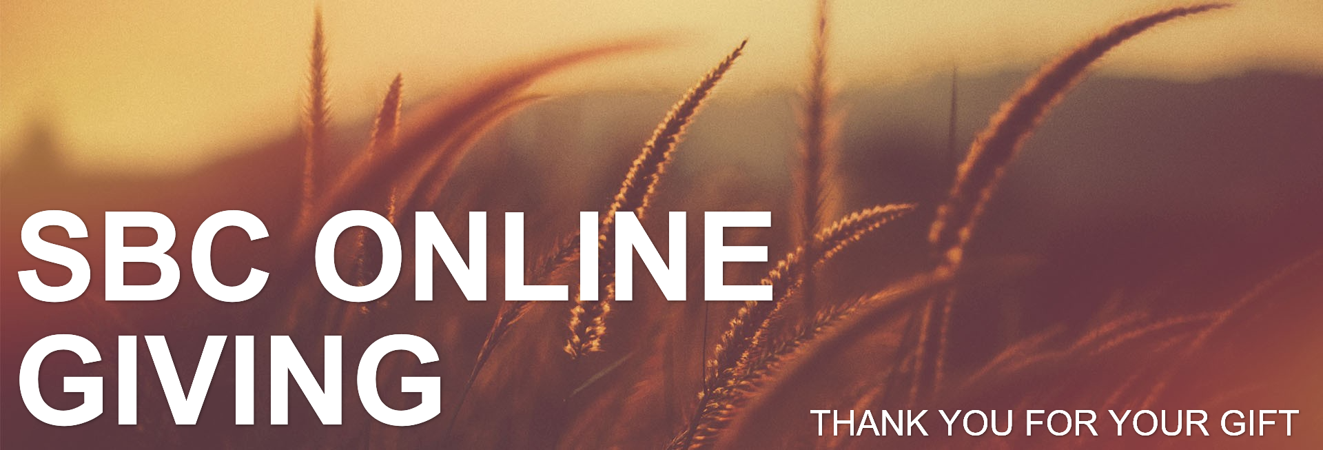 Give Thanks With A Grateful Heart Website Banner